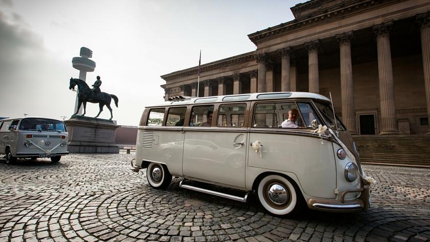 Liverpool Wedding Camper Van Hire
